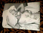 Marilyn Monroe In Bed Mid 50s So Iconic Printed In The 1980s