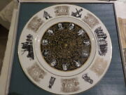 Wedgwood Plate - The Royal Observatory Plate - Ltd Edition Of 1000 + Box And Cert