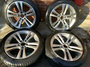 Bmw 18andrdquo 5x120 Wheels With Michelin 225/45r18 95h Snow Tires