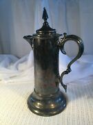 Reed And Barton 14 Pitcher Colonial Revival Style Silver-plate 1850 -1899's