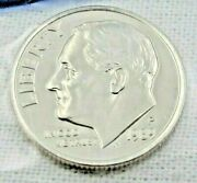 1989 P Roosevelt Dime In Mint Cello From Us Mint Set - Uncirculated 9091