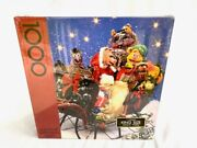 Muppets Christmas Party 1980 Springbok 1000 Piece Jigsaw Puzzle Sealed New