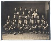 Large 1915 Photo Of Football Team That Outscored Opponents 238 To 7