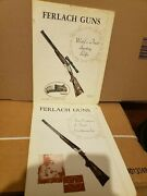 Lot Of 2 Ferlach Worlds Finest Sporting Rifles And 4 Centuries Of Finest Craftsman