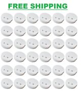 Smoke Detector Lot Kidde Battery Operated Ionization Alarm Fire Safety 36 Pack