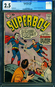 Superboy 68 Cgc 2.5 Dc First Appearance Of Bizarro- 0292580002