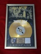Third Day - Riaa Certified Official Gold Record Award - Framed - Christian Rock