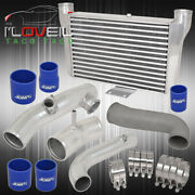 For Scion/toyota Frs Silver Intercooler + Piping Kit Blue Couplers Jdm Racing