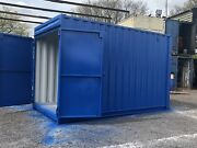 15 Foot 9ft 6 In High Cube Shipping Container With Anti Condensation Paint.