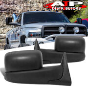 1998-2001 Dodge Ram Towing Trailer Flip Mirrors Power Heated Replacement Upgrade