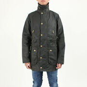 Barbour 125th Icons Beaufort Waxed Cotton Menand039s Jacket Mwx1554sg91 Smlxl