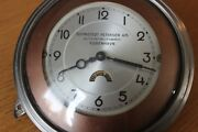 Extremely Rare 1930and039s Chrysler Vintage Dashboard Clock. Moving Advertising Dial
