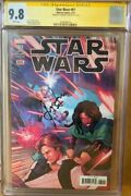 Han Solo 61 Cgc 9.8 Signed By Harrison Ford Star Wars Signature Series Comic
