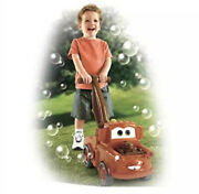 Official Walt Disney Cars 2 Fisher Price Walk Behind Bubble Mater Mitb