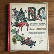 Book Old Abc Small Contes By Jules Lemaitre Illustrations Of Job Eo 1919