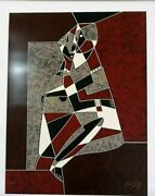 Neal Doty Shades Of Love Original Serigraph Signed Numbered 16/25 Submit Offer