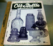 Vintage Old Bottle Magazine, May 1970 Issue Antique Bottle Collectors Guide