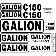 New Decal Set For Galion Model C150 Roll O Matic Crane Series A