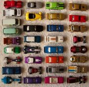 Johnny Lightning Loose Lot Of 33 All Listed In Description And Different Lot 1/4