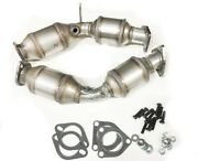 Fits Nissan 350z 3.5l Both Catalytic Converter 2003-2006 Left And Right Directfit