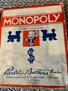 Lot Of 7 Vintage Collectible Board Games 1933-2004 Monopoly, Clue, Parcheesi