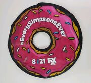 Rare Sdcc 2014 Exclusive Promo The Simpsons 8/21 Fxx Inflatable Donut - Not Used