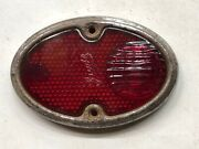 Vintage Tail Lamp Light Glass Lens And Bezel Guide Chevy Chevrolet Old Car Auto