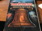 The Harris Independence United States Postage Stamp Album Almost Complete