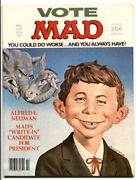 Mad Magazine 218 1980- Presidential Election Cover Vf/nm