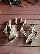 1969 Cadillac Hood Hinges 69 Deville Sedan With Brackets And Bolts Set 1968-70