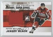 2009-10 Itg Heroes And Prospects Jersey Silver Spring Expo 1/1 Peter Holland