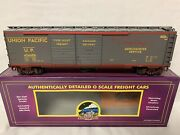 ✅mth Premier Union Pacific Challenger 50' Boxcar 20-93130 O Scale Up Big Boy