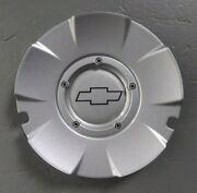 Chevy Silverado Ss Suburban 1500 Center Cap Silver Wheel Hubcap 15116616