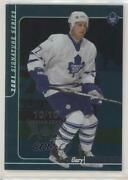 2000 Itg Be A Player Signature Series Emerald Spring Expo /10 Gary Roberts 249