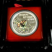 2008 Australia Blue Ringed Octopus 1 Oz Silver Proof Coin