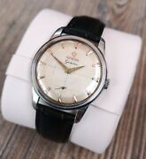 Omega Geneve Rare Vintage Mens Watch Fully Serviced Plus Warranty And Box