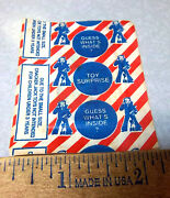 Vintage Unopened Cracker Jack Toy Surprise, Fun Collectible Item, Mystery Item