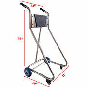Heavy Duty Outboard Motor Dolly/trolley/stand Max 15 Hp - Stainless