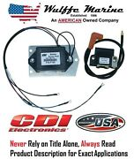 Cdi 113-7123 397123 Power Pack Amplifier And Coil Johnson Evinrude 55 60 65 85 100
