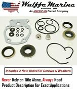 Lower Unit Gearcase Seal Kit For Johnson Evinrude 20 25 30 35 Hp 396351 18-2658
