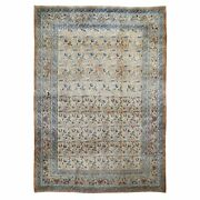 8'6x12' Antique With Abrash Full Pile Hand Knotted Oriental Rug R48461