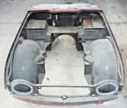 Used Oem 1965 - 1968 Triumph Tr4a Front Body Clip - With Front Door Posts G903