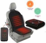 Zento Deals 12v Heated Car Seat Cushion And Road Electric Heated Car Blanket Set