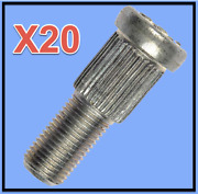 20 Brand Wheel Lug Studs Front/rear Replace Oem 6100391