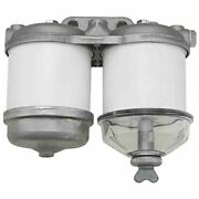 Ebpn9n166aa Fuel Filter Assy Dual Fits Ford Tractor 2000, 3000, 4000, 5000, 7000