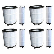 Sta-rite 250220201s Large Outer Pool Filter 4 Pack + 3 Small Inner 4 Pack