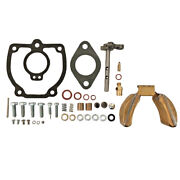Carburetor Repair Kit W/ Shaft And Float For Farmall 460 560 606 And 660 Tractor
