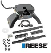 Reese Elite Rails 26.5k 5th Wheel Hitch For 11-16 Ford F250 F350 F450 Lube Plate
