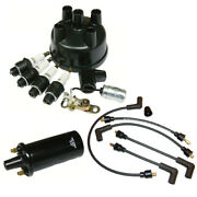 Distributor Ignition Tune Up Kit Fits Ford 8n Tractor Side Mount Kit And 6v Coil