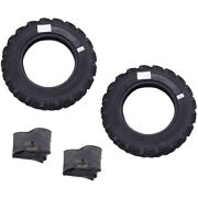 6.00-16, 6.00x16 2 Tires + 2 Tubes 8 Ply R1 Knk50 Farm Tractor Tire